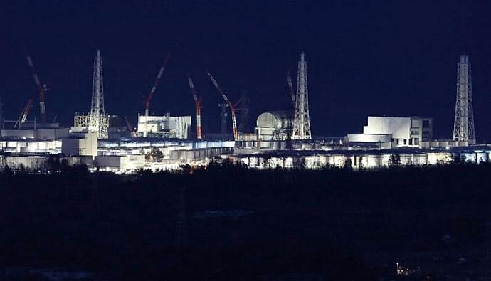 Nhà máy điện hạt nhân Fukushima Daiichi ngày 10/3/2018, 7 năm sau thảm họa.