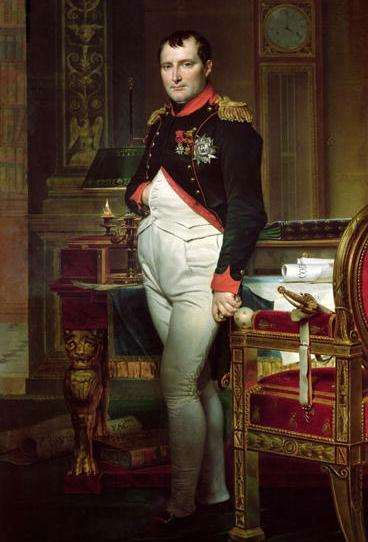 Hoàng đế Napoleon không hề lùn như nhiều người lầm tưởng.