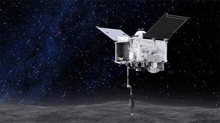 Tàu vũ trụ OSIRIS-Rex có nhiệm vụ nghiên cứu tiểu hành tinh Bennu.