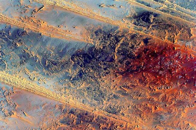 Đất nước Ai Cập khi nhìn từ trên cao.