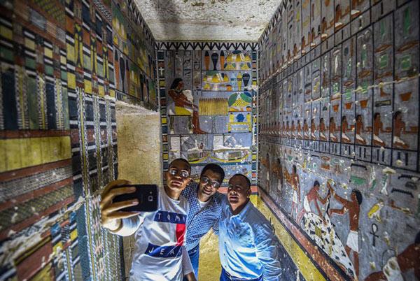 Các chuyên gia tại Ai Cập đã rất vất vả để công bố những phát hiện mới về khảo cổ trong vài tháng qua
