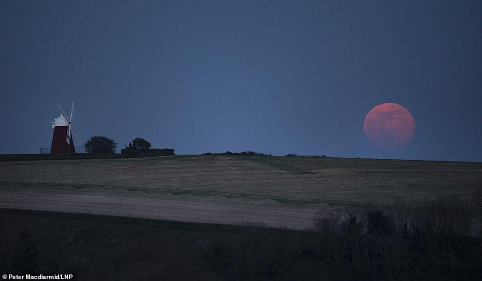 Mặt trăng quan sát tại Hà Lan