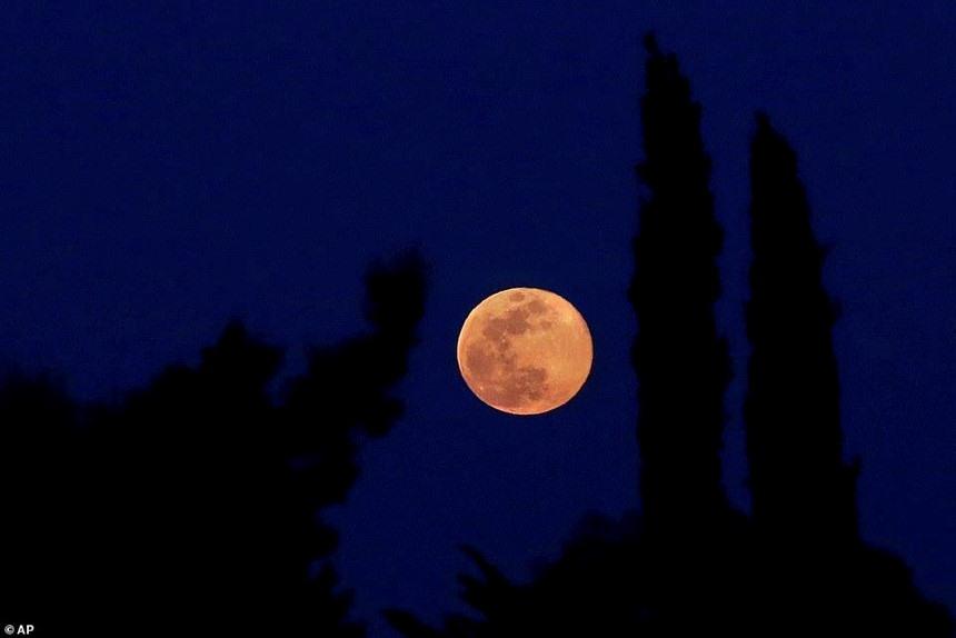 Mặt trăng quan sát được tại Ai Cập