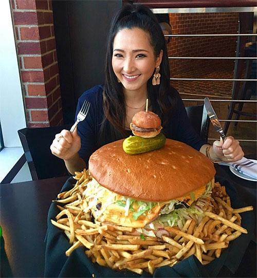 Đồ ăn mang cỡ lớn