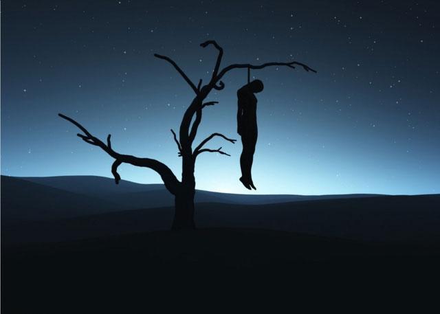 Người tự sát được coi là có tội, phải chịu đựng sự trừng phạt, bao gồm việc tịch thu tài sản và bị chôn cất không đàng hoàng.