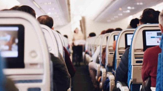 Tỷ lệ lây nhiễm virus cúm trên máy bay cao nhất trong vòng bán kính 1 mét.