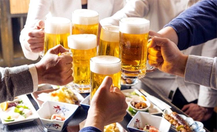 Bia rượu, béo phì, ít vận động là nguyên nhân chính gây gan nhiễm mỡ.