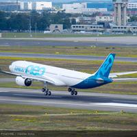 Quá trình lắp ráp máy bay Airbus A330neo rút ngắn trong hai phút
