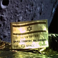 Mặc cho thất bại, Israel vẫn thể hiện quyết tâm chinh phục Mặt trăng