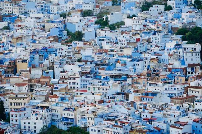 Thành phố của những mảng xanh