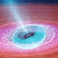 Phát hiện một hố đen vũ trụ có hành vi bất thường