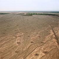 Khám phá kỳ quan cổ đại nối 1.000 giếng dẫn nước dưới sa mạc Trung Quốc