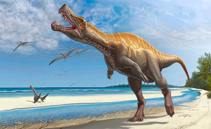 Khủng long tuyệt chủng cách đây 65 triệu năm.