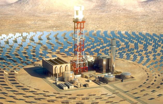Nếu biến sa mạc Sahara thành nhà máy điện mặt trời, sản lượng điện năng của nó sẽ tương đương với hơn 36 tỷ thùng dầu mỗi ngày.