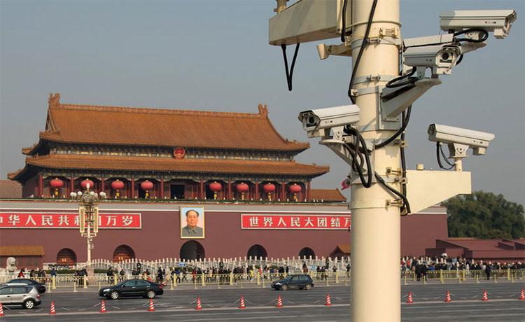 IHS Markit ước tính ở Trung Quốc lắp đặt 176 triệu chiếc camera an ninh