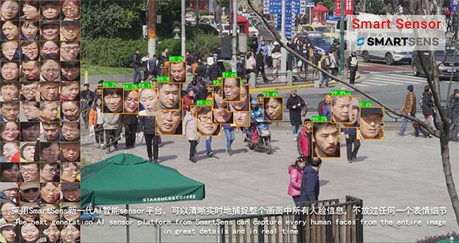 Cảm biến tích hợp AI của SmartSens