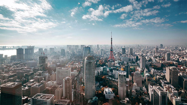 Những khối nhà chọc trời ở Nhật Bản không phải tòa nhà thông thường.