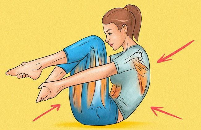 Duỗi cơ mông
