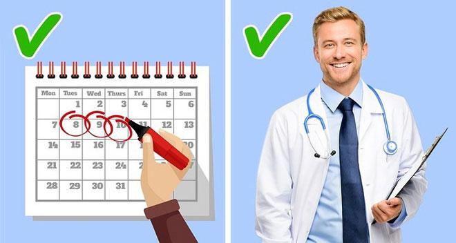 Đi khám bác sĩ