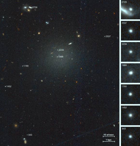 Thiên hà này có tên gọi NGC 1052-DF4, bên trong không hề có vật chất tối nào cả.