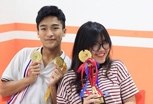 Tống Duy Hải và Trần Phương Lam.