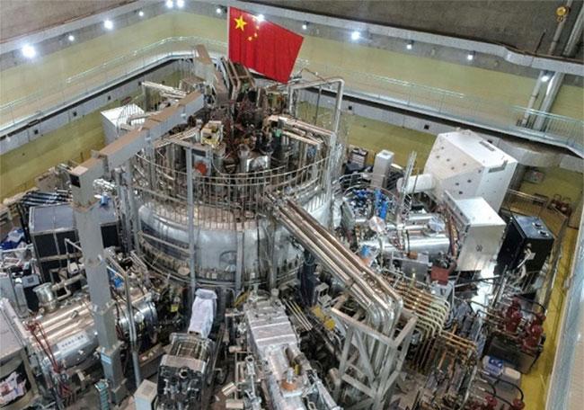 Ảnh buồng nén từ tính tại lò phản ứng hạt nhân Hợp Phì (Trung Quốc)