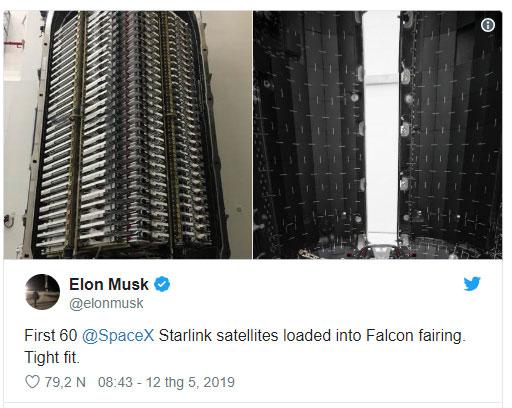 Thông báo của Elon Musk