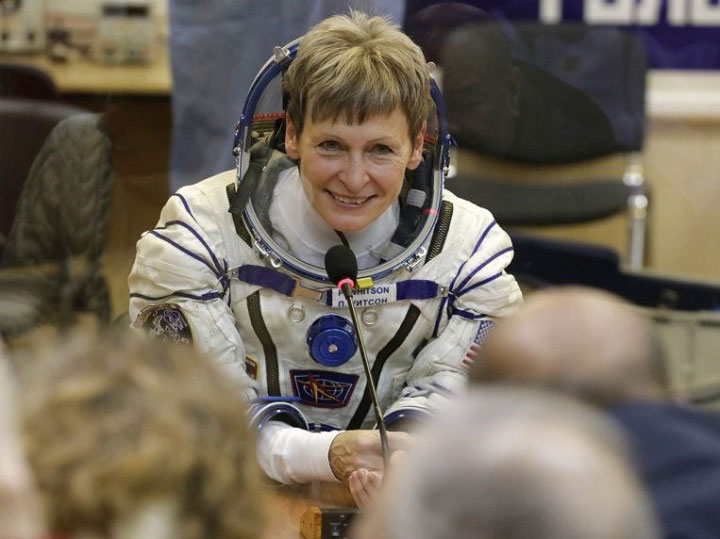 Nữ phi hành gia Peggy Whitson.