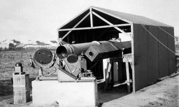 Dụng cụ quan sát nhật thực toàn phần của Eddington năm 1919