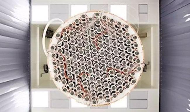 Máy dò vật chất tối XENON1T.