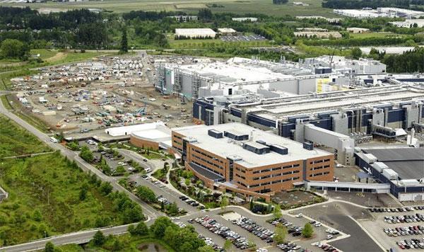 Quang cảnh nhà máy Ronler Acres của Intel.