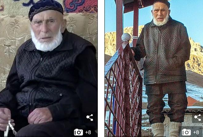 Cụ ông Appaz Iliev được cho là năm nay 123 tuổi.