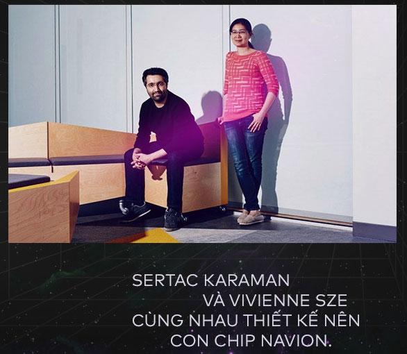 Sertac Karaman và Vivian Sze