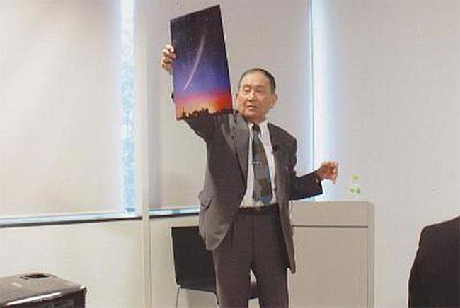 Nhà thiên văn học Tsutomu Seki.