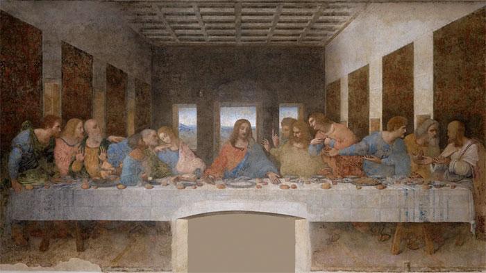 Tác phẩm Last Supper (Bữa tối cuối cùng).