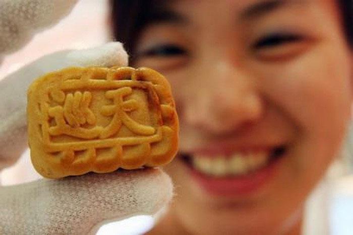 Trong dịp Tết trung thu, các phi hành gia Trung Quốc được thưởng thức bánh bao từ thịt lợn, gà Cung Bảo
