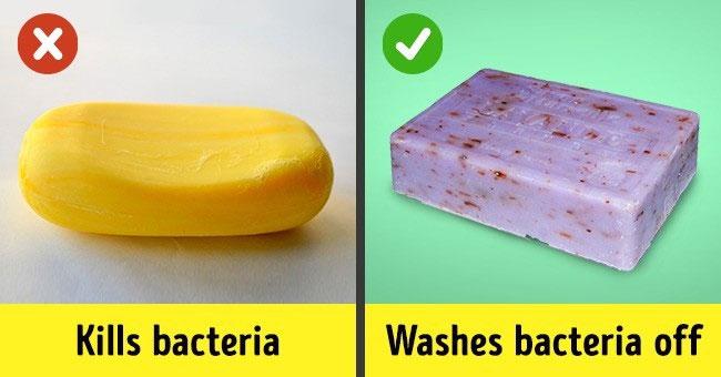 Xà phòng giết vi khuẩn