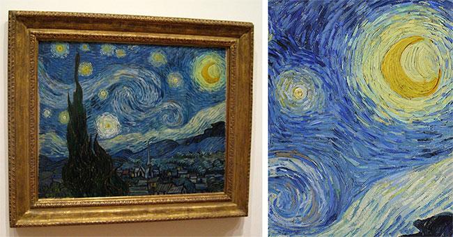 """""""Đêm đầy sao"""" (The Starry Night) là tác phẩm nổi tiếng nhất, được định giá lên tới trên 150 triệu đô la."""