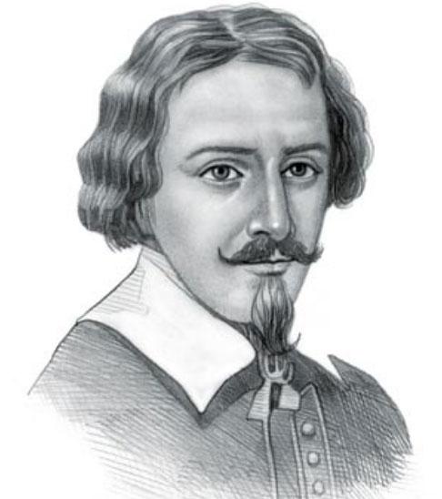 Zacharias Janssen, một trong những người đầu tiên chế tạo kính hiển vi.