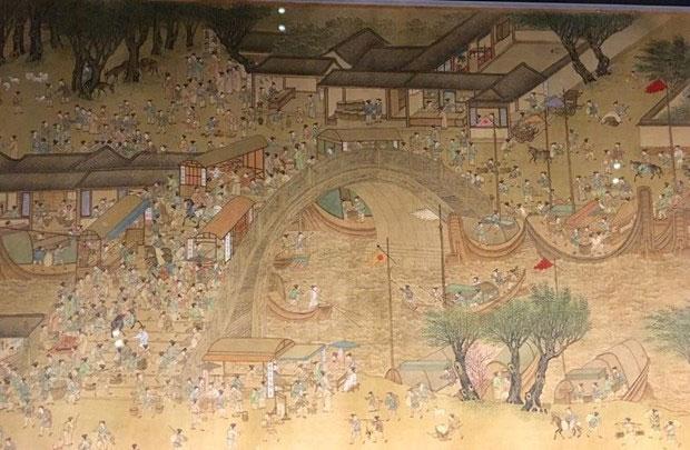 Thời nhà Đường, Trung Quốc đạt nhiều thành tựu về kiến trúc, quân sự.
