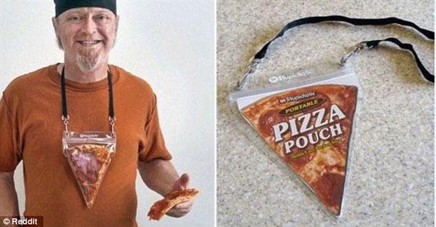 Nếu còn dư miếng pizza nào, túi đeo này sẽ giúp bạn đem chúng đi mọi nơi.