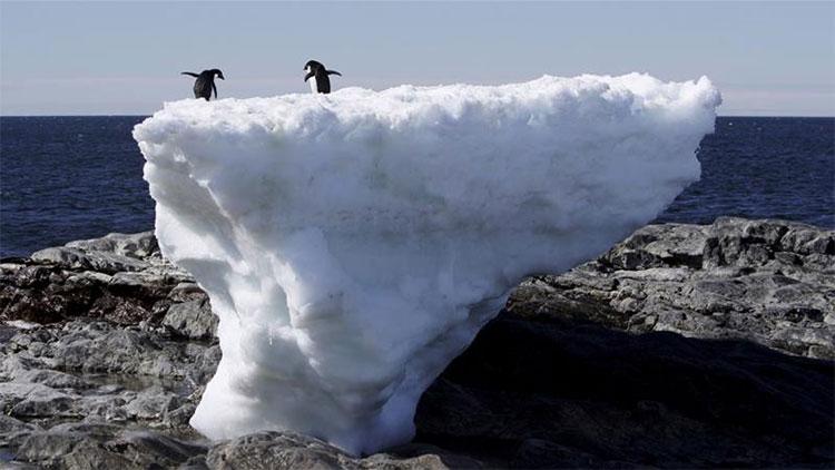 Băng giá tại Greenland đang tan rất nhanh