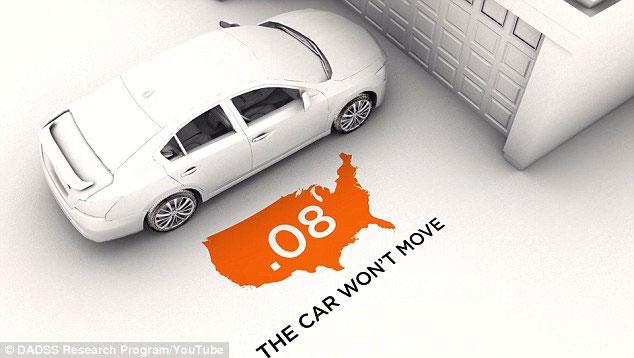 Xe không hoạt động nếu nồng độ cồn vượt quá 0,08%.