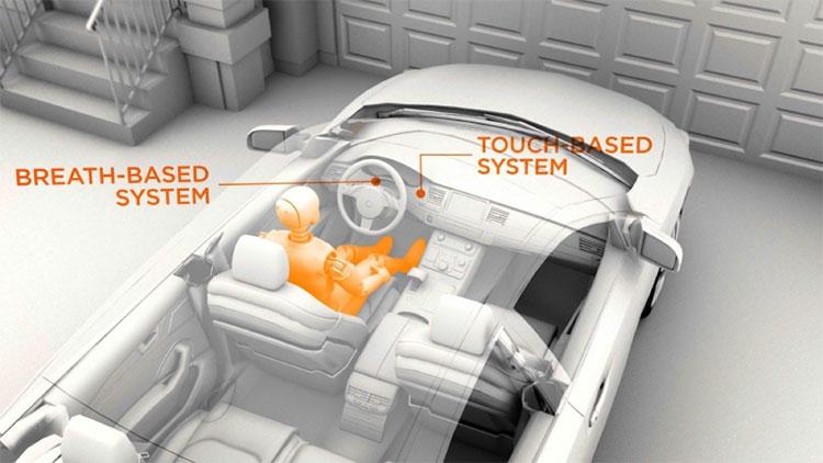 Hệ thống DADSS gồm 2 bộ cảm biến.