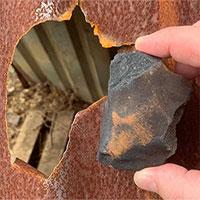 Thiên thạch 4,6 tỷ năm tuổi rơi trúng chuồng chó
