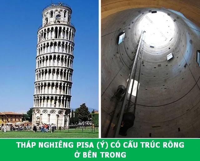 Bí mật bên trong tháp nghiêng Pisa