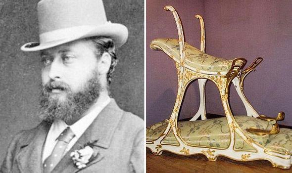 Chiếc ghế tình yêu kỳ lạ mà nhà vua Anh Edward VII mang theo mỗi lần tới nhà thổ La Chabanais.