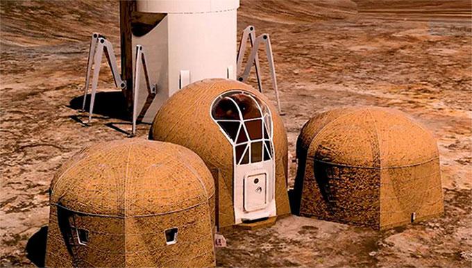 Xây nhà trên sao Hỏa
