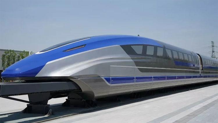 Tàu đệm từ siêu tốc mới này có thể đạt vận tốc tối đa lên tới 600km/h.