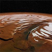 NASA phát hiện khối băng khổng lồ trên sao Hỏa
